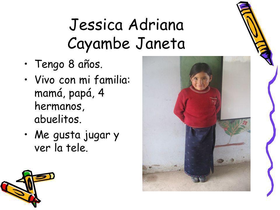Jessica Adriana Cayambe Janeta