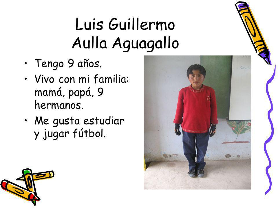 Luis Guillermo Aulla Aguagallo