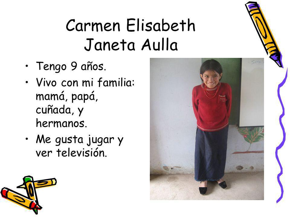 Carmen Elisabeth Janeta Aulla