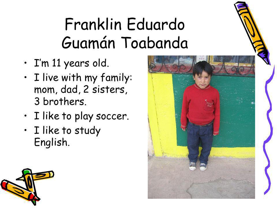 Franklin Eduardo Guamán Toabanda