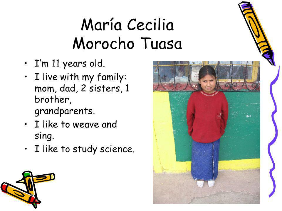 María Cecilia Morocho Tuasa