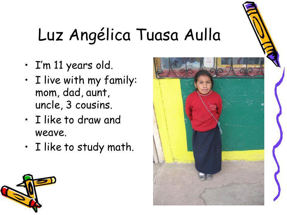 Luz Angélica Tuasa Aulla