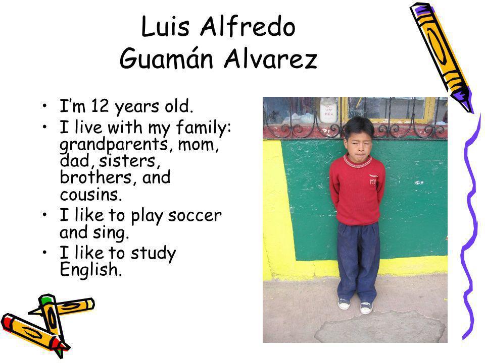 Luis Alfredo Guamán Alvarez