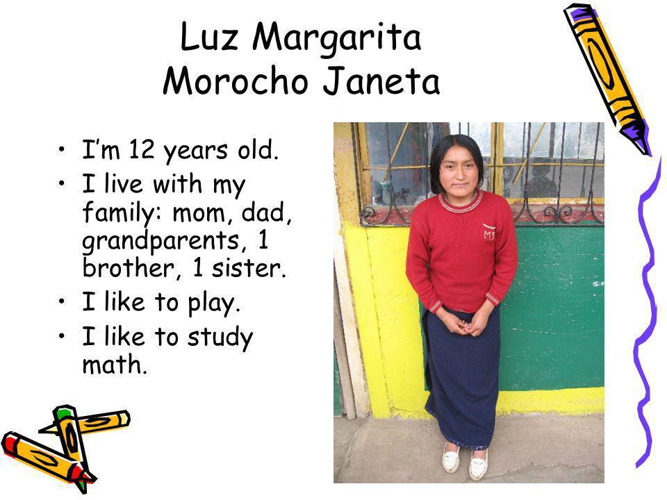 Luz Margarita Morocho Janeta
