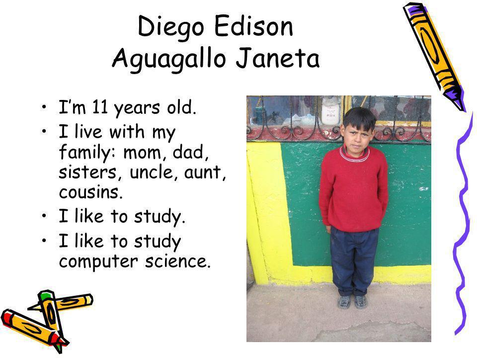 Diego Edison Aguagallo Janeta