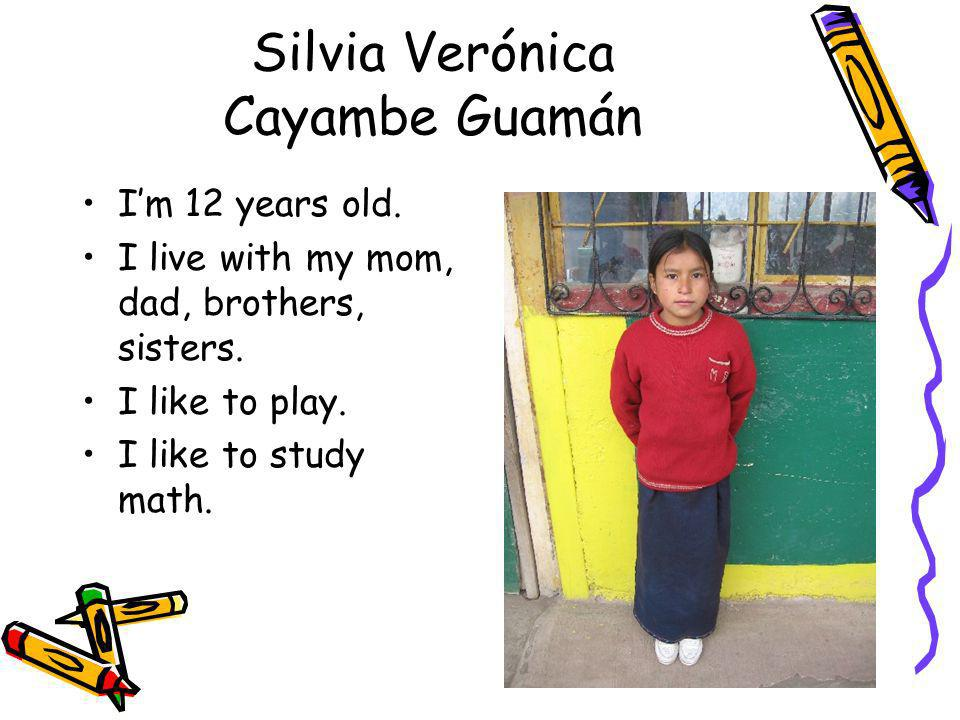 Silvia Verónica Cayambe Guamán