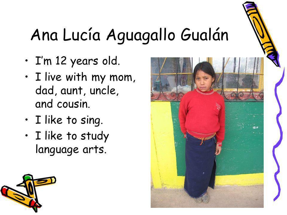Ana Lucía Aguagallo Gualán