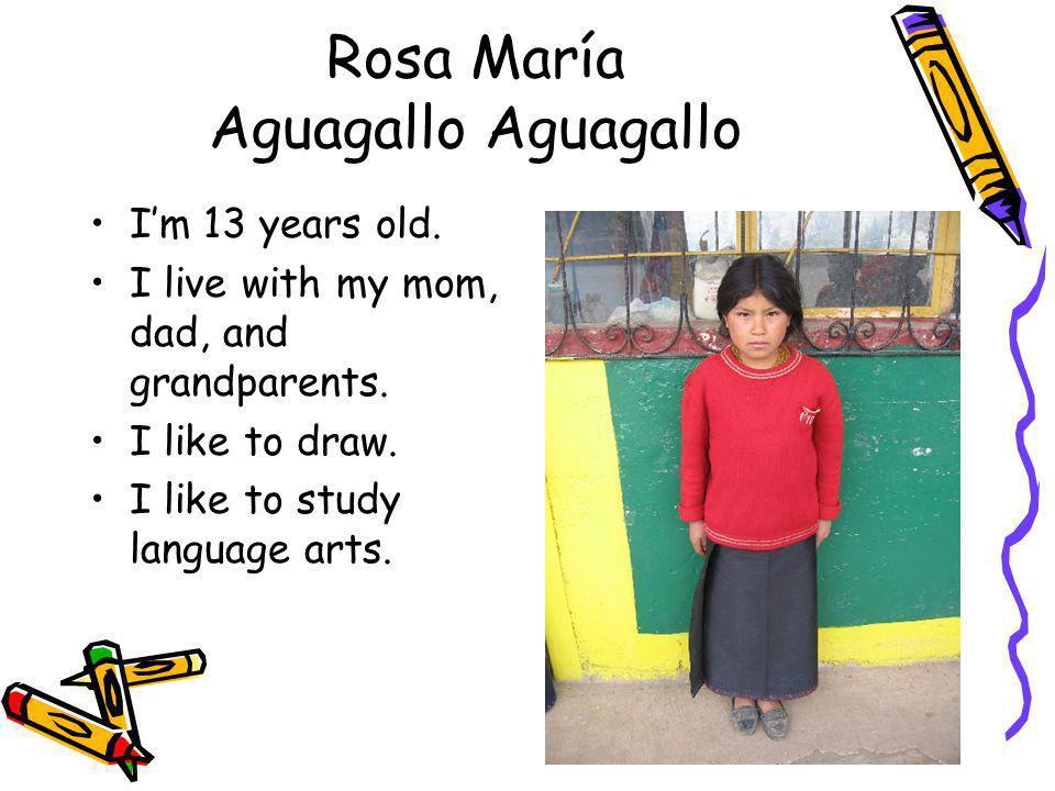 Rosa María Aguagallo Aguagallo