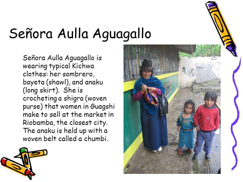Señora Aulla Aguagallo