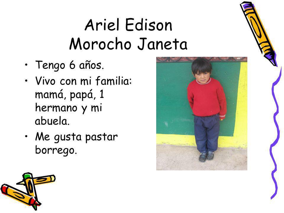 Ariel Edison Morocho Janeta