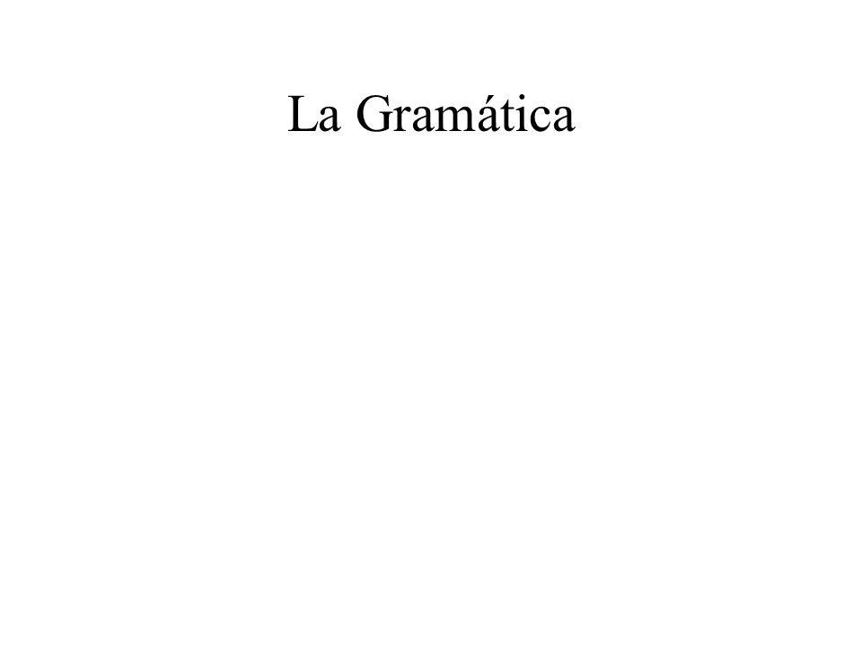 La Gramática