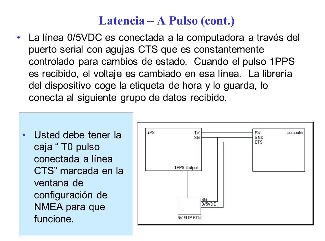 Latencia – A Pulso (cont.)
