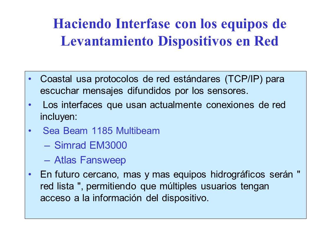Haciendo Interfase con los equipos de Levantamiento Dispositivos en Red