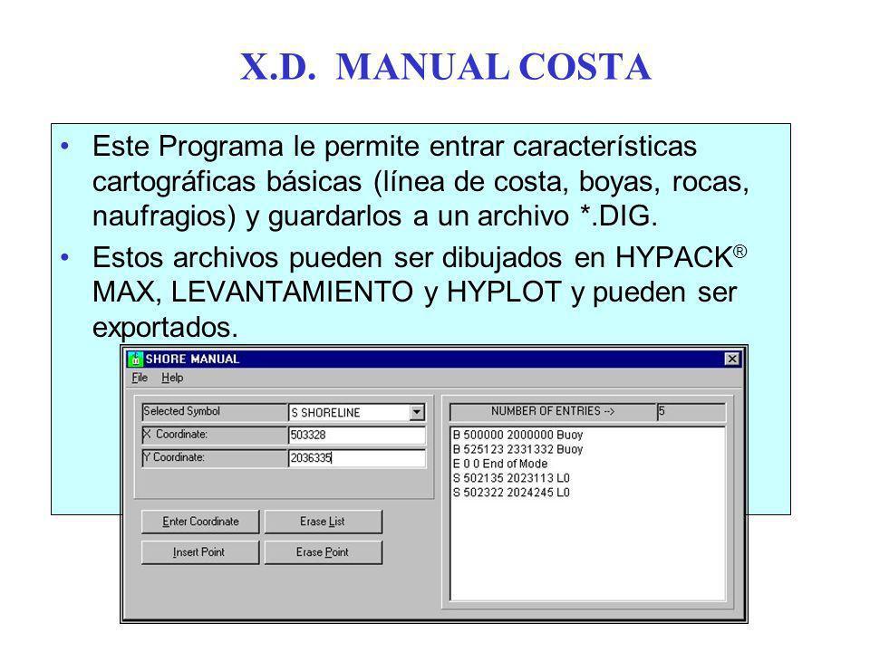 X.D. MANUAL COSTA