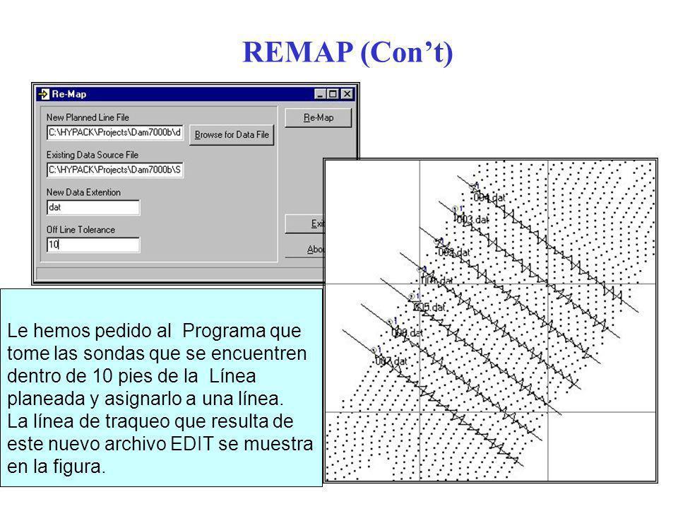 REMAP (Con't)