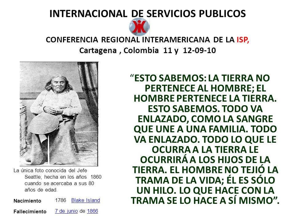 INTERNACIONAL DE SERVICIOS PUBLICOS CONFERENCIA REGIONAL INTERAMERICANA DE LA ISP, Cartagena , Colombia 11 y 12-09-10