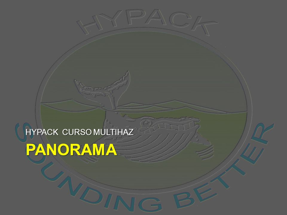 HYPACK CURSO MULTIHAZ panorama
