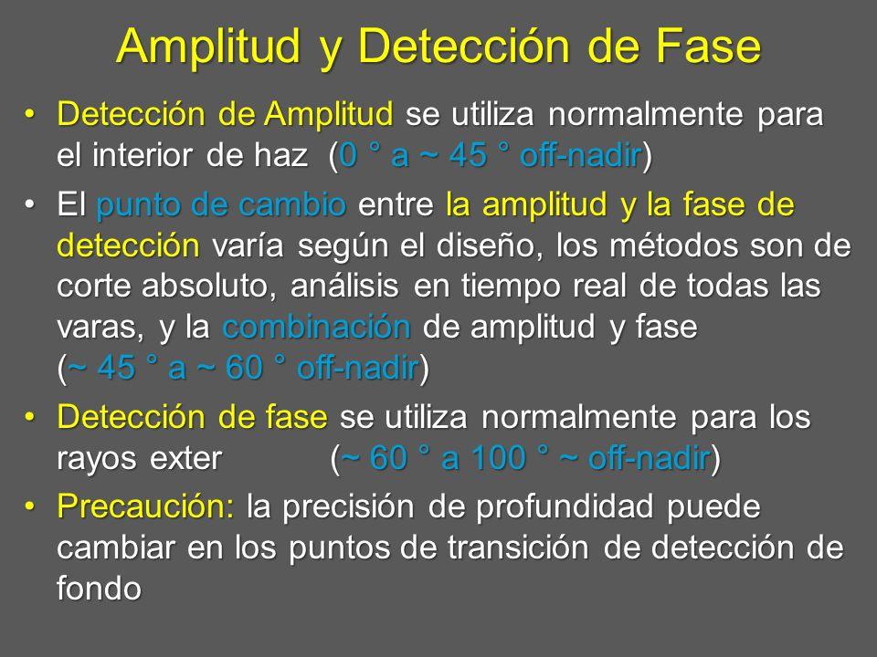 Amplitud y Detección de Fase
