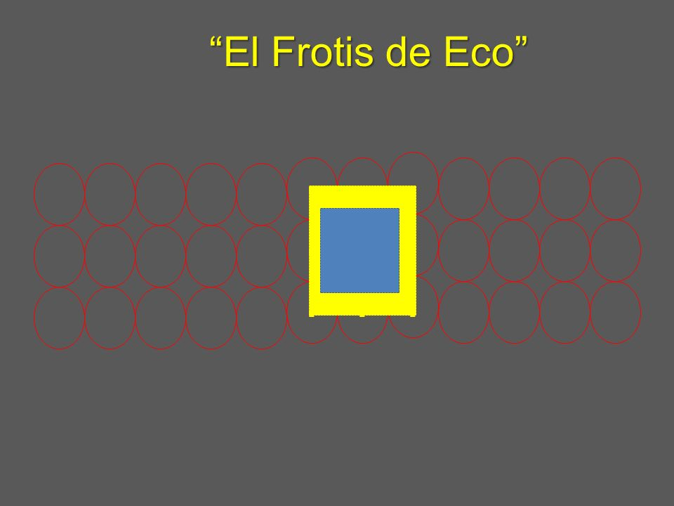 El Frotis de Eco . . .