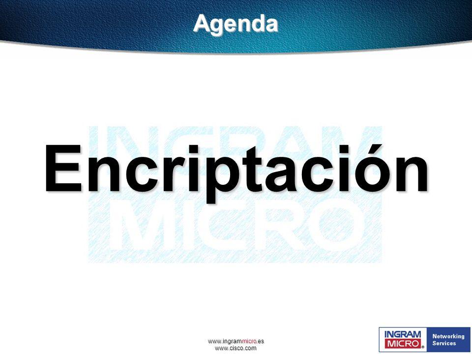 Agenda Encriptación