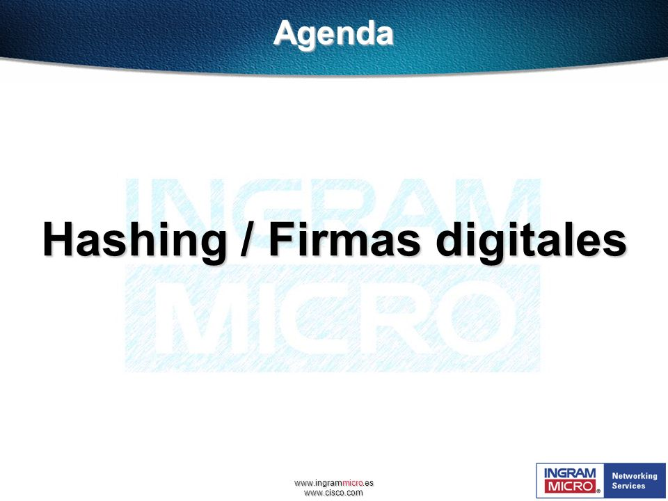 Hashing / Firmas digitales