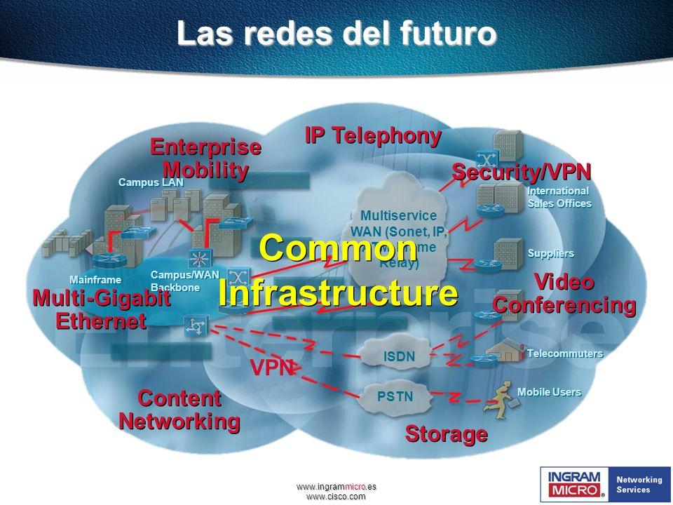 Multiservice WAN (Sonet, IP, ATM, Frame Relay)