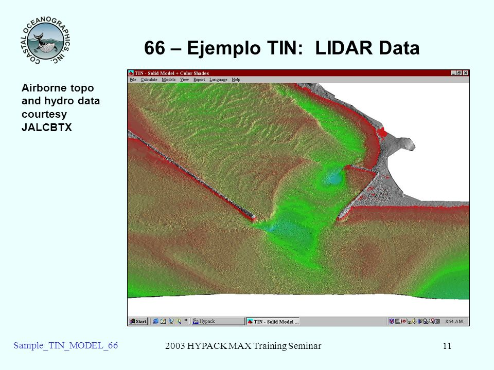 66 – Ejemplo TIN: LIDAR Data