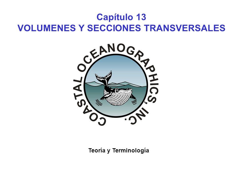Capítulo 13 VOLUMENES Y SECCIONES TRANSVERSALES