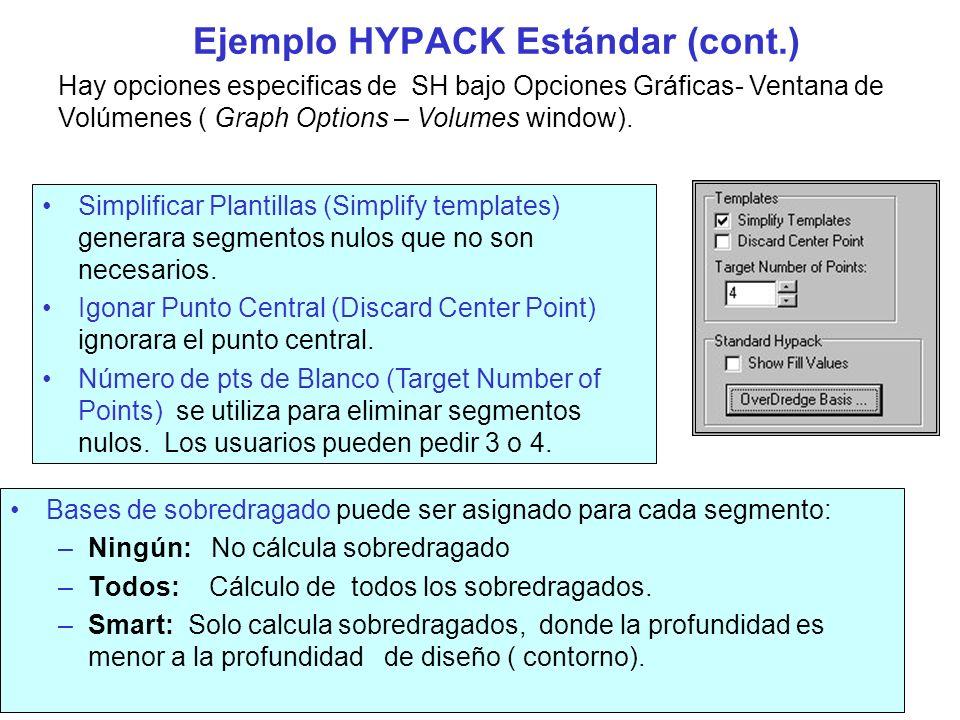 Ejemplo HYPACK Estándar (cont.)