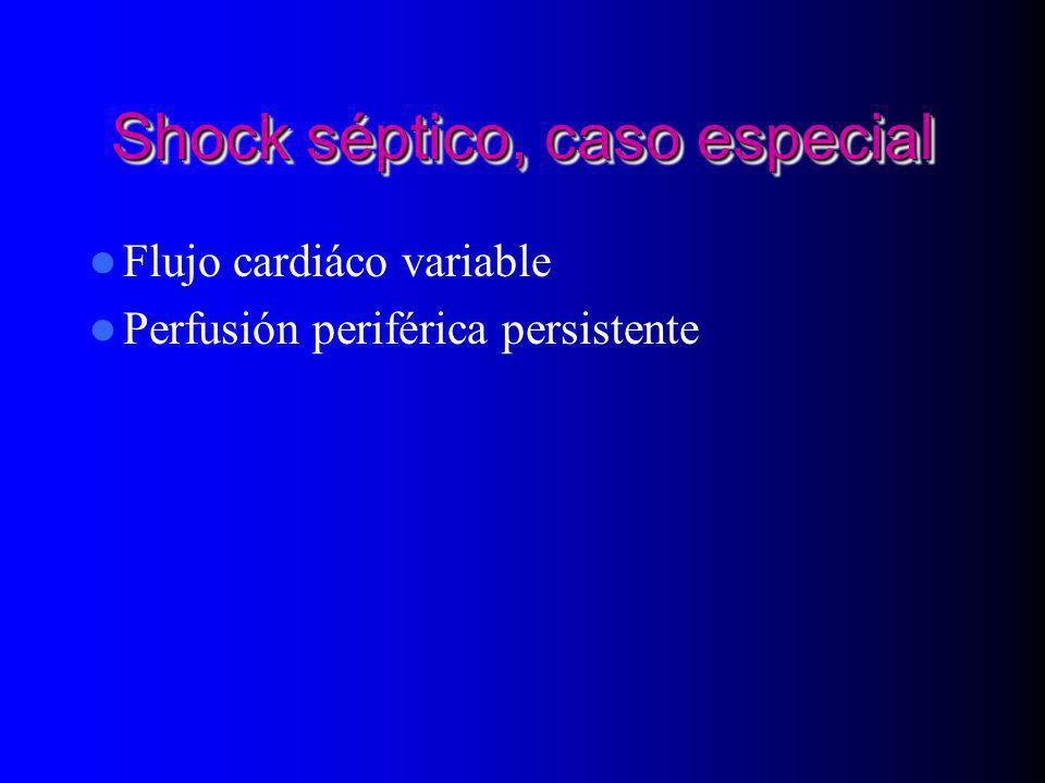 Shock séptico, caso especial