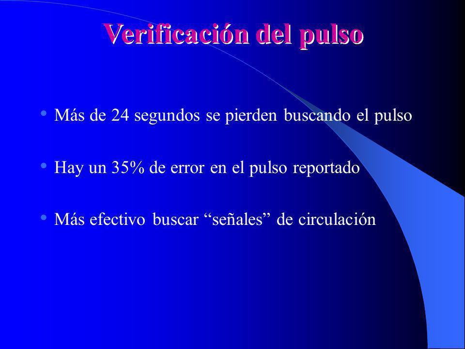 Verificación del pulso