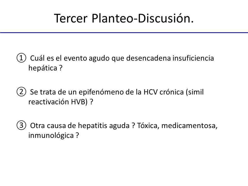 Tercer Planteo-Discusión.
