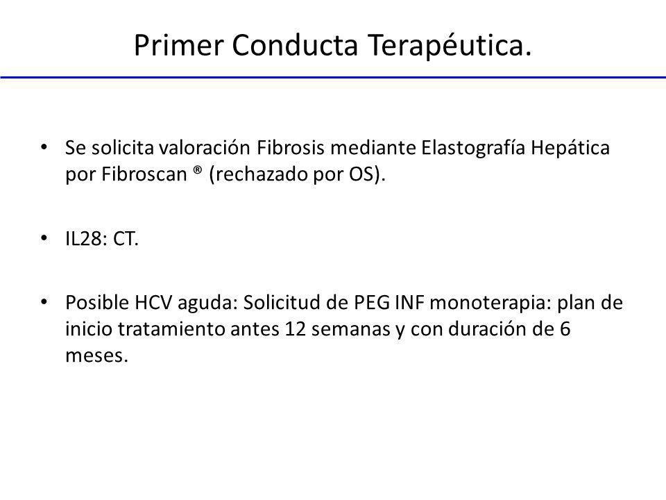 Primer Conducta Terapéutica.