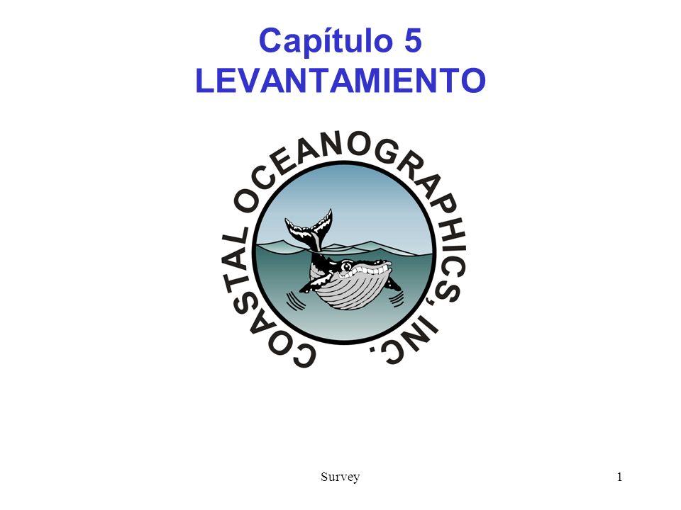 Capítulo 5 LEVANTAMIENTO