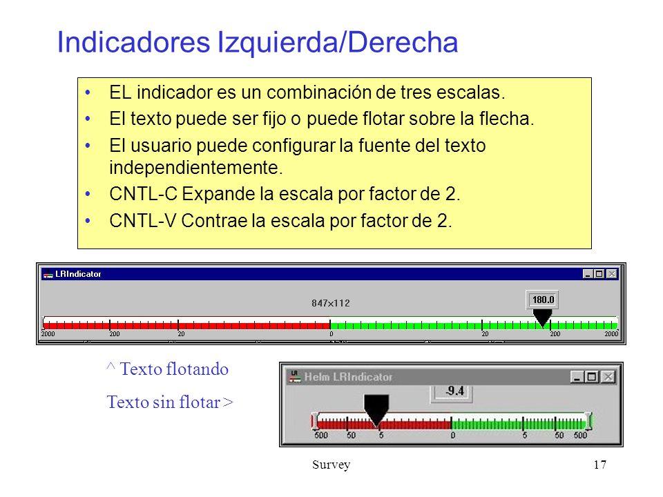 Indicadores Izquierda/Derecha