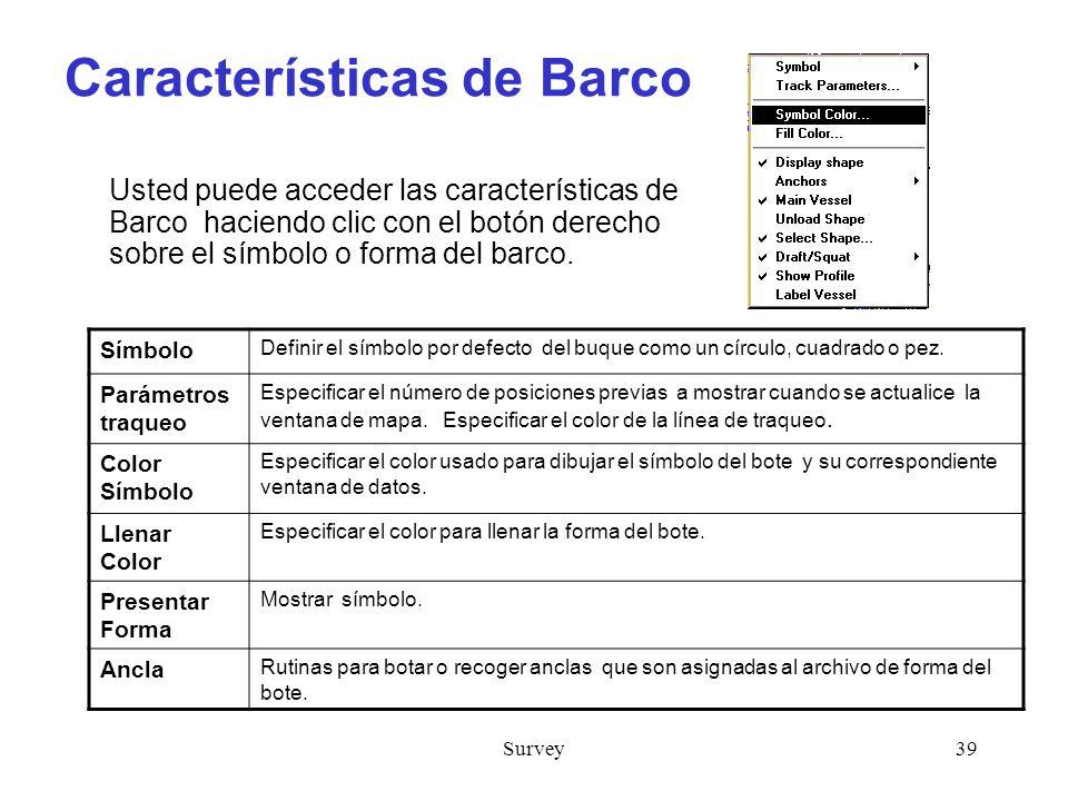 Características de Barco