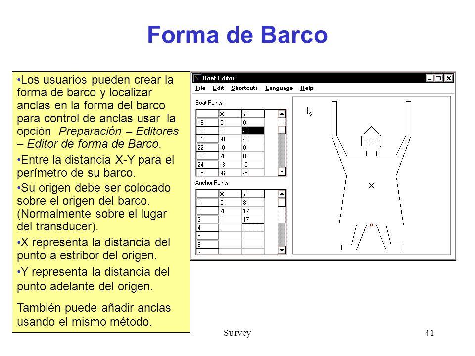Forma de Barco