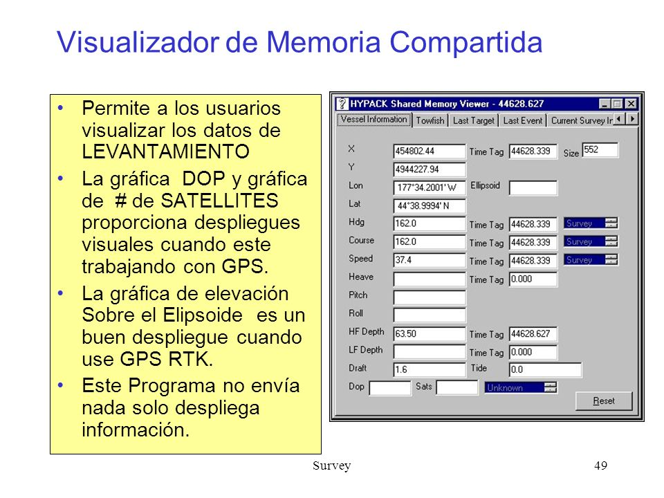 Visualizador de Memoria Compartida