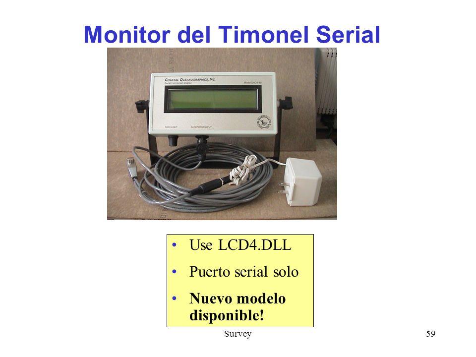 Monitor del Timonel Serial
