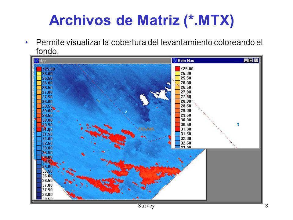 Archivos de Matriz (*.MTX)