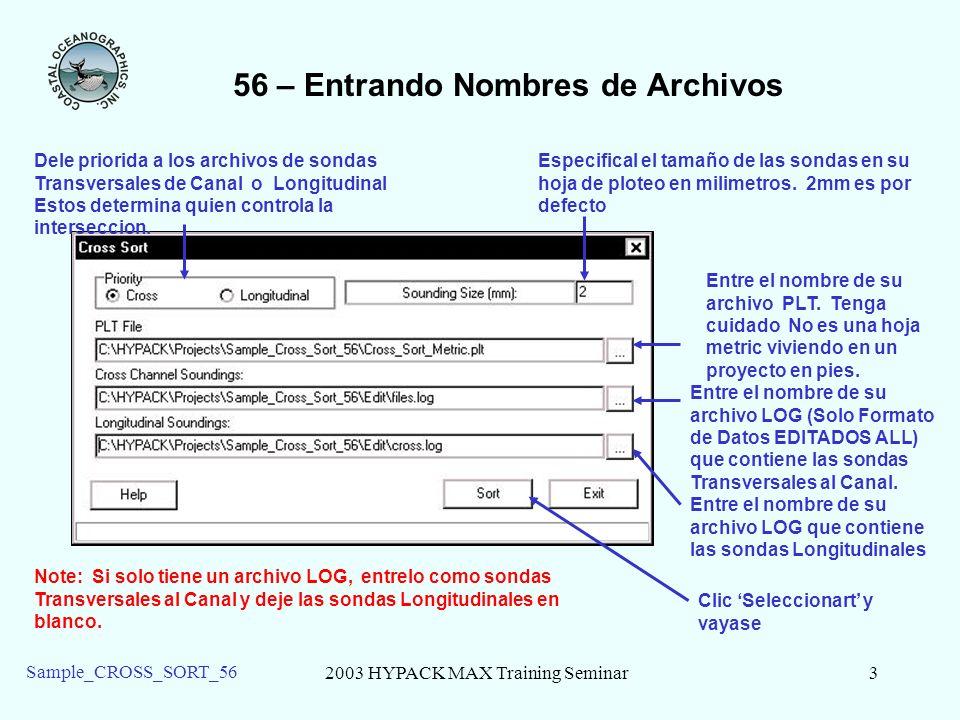 56 – Entrando Nombres de Archivos