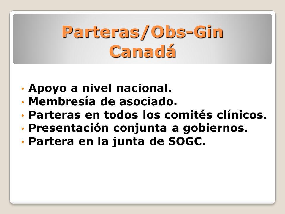 Parteras/Obs-Gin Canadá