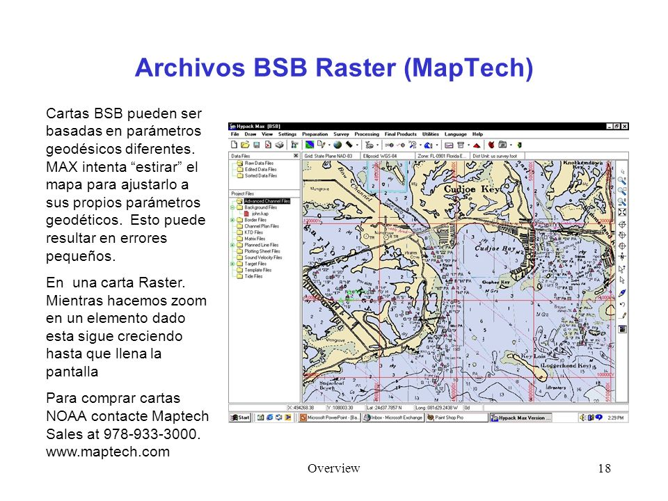Archivos BSB Raster (MapTech)
