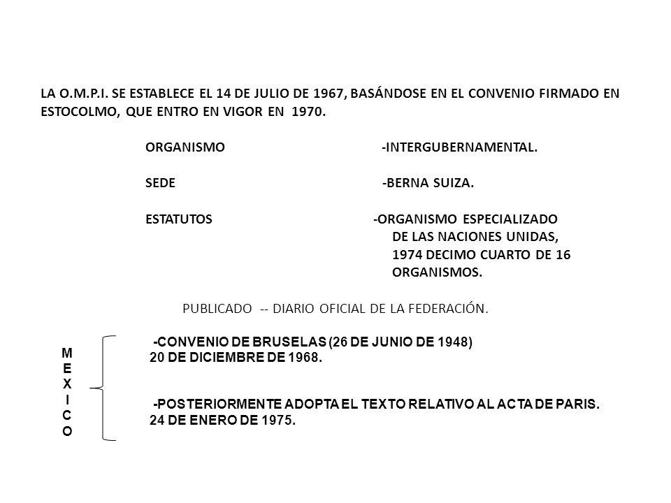 PUBLICADO -- DIARIO OFICIAL DE LA FEDERACIÓN.