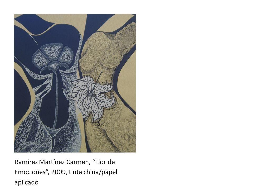 Ramírez Martínez Carmen, Flor de
