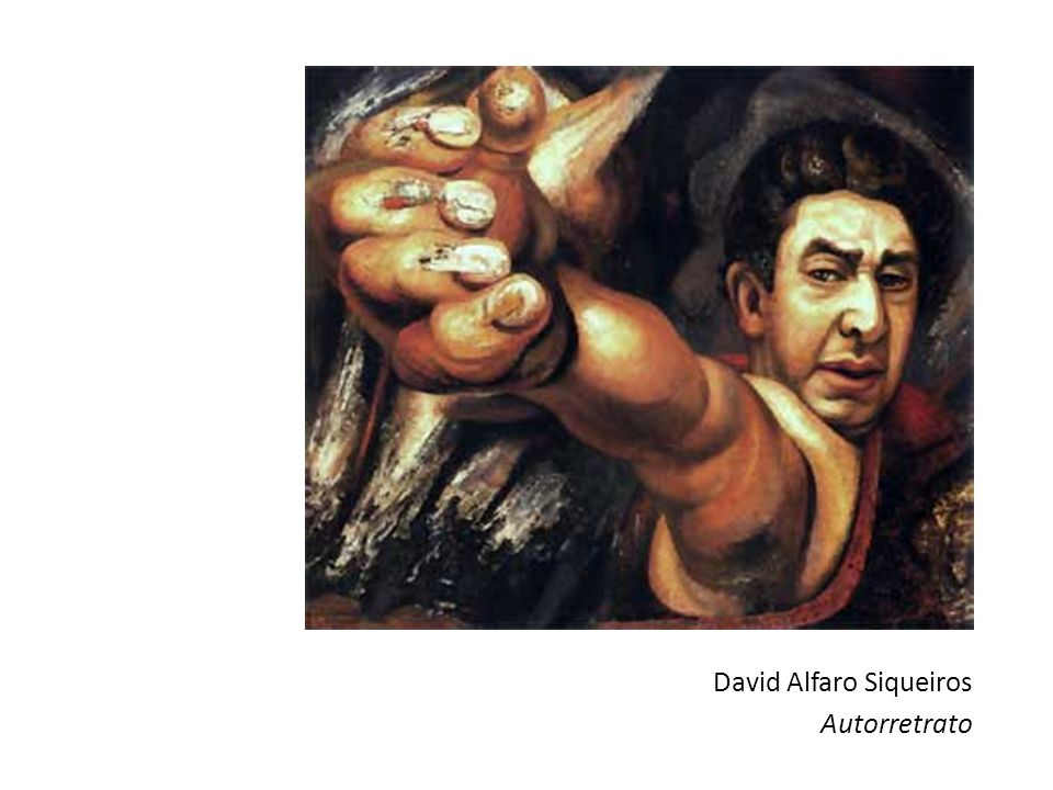 David Alfaro Siqueiros Autorretrato