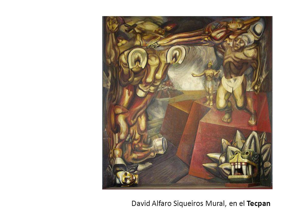 David Alfaro Siqueiros Mural, en el Tecpan