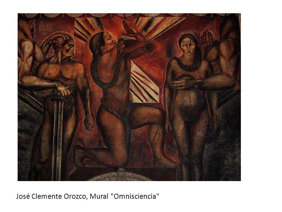José Clemente Orozco, Mural Omnisciencia