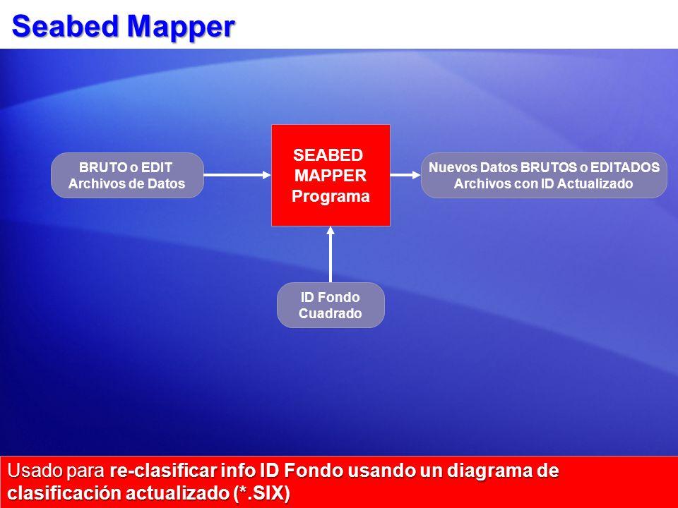Nuevos Datos BRUTOS o EDITADOS Archivos con ID Actualizado