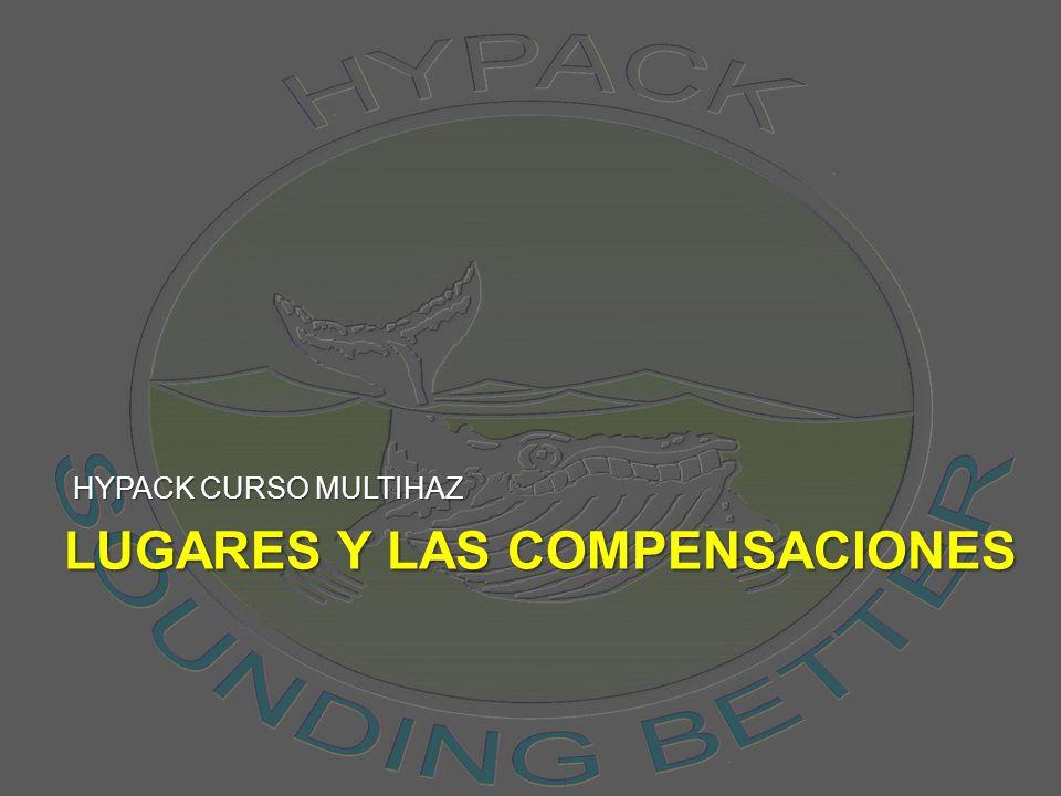 Lugares y las compensaciones